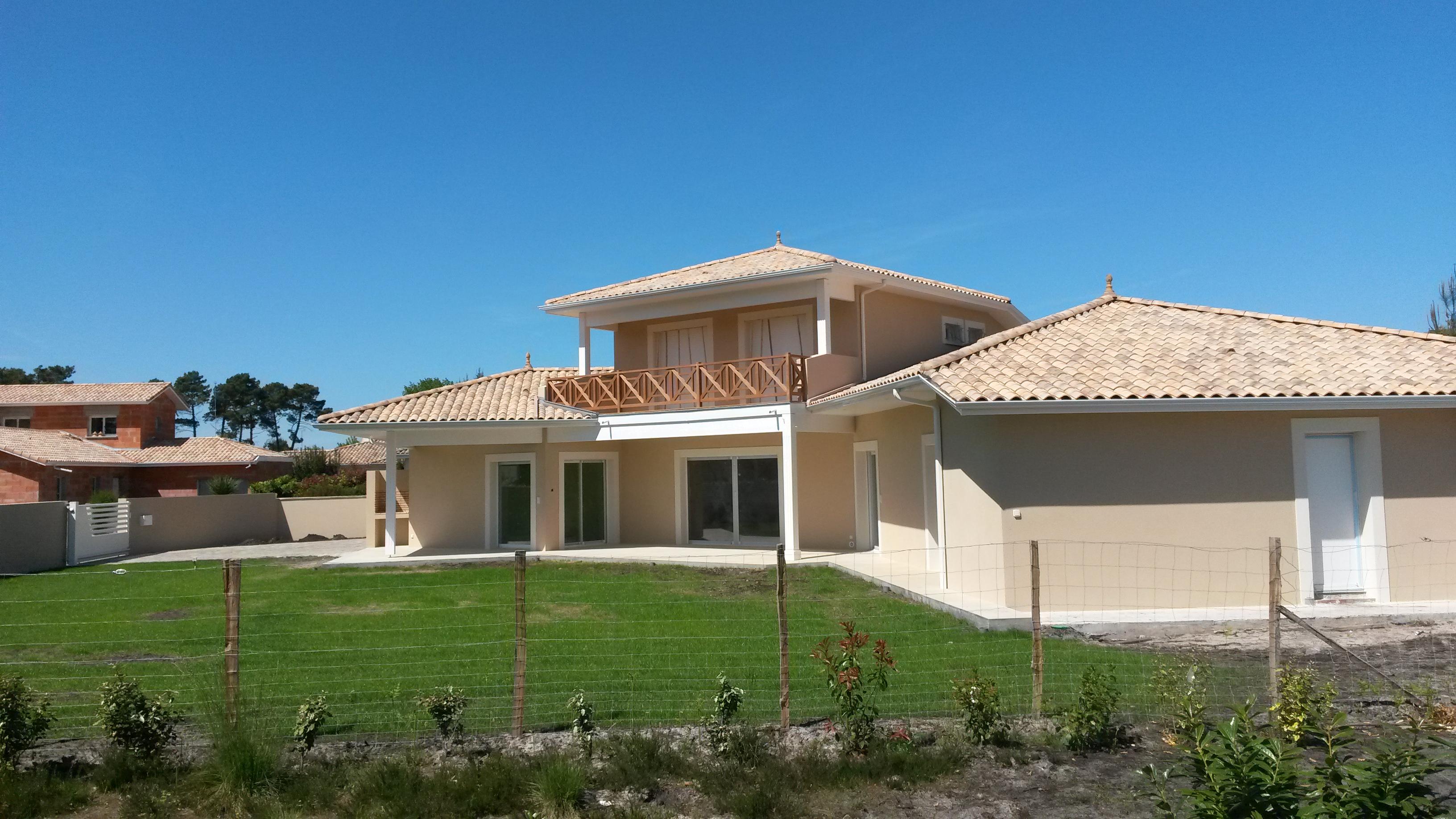 Charpente Couverture D 39 Une Maison Neuve Lan Ederra