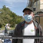 Reportage TV7 – Charpentiers-Couvreurs, des métiers qui manquent de bras